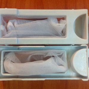 Túi lọc xơ vãi máy giặt Panasonic 7kg ( túi lọc bên dưới)