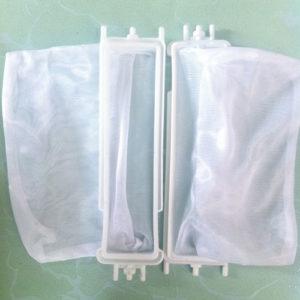 Túi lọc xơ vãi máy giặt Panasonic 8kg. Lưới lọc bụi bẩn trong máy giặt Panasonic 8kg. (Bộ lọc bên dưới)