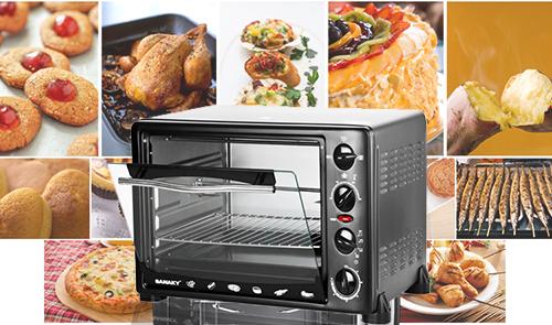Chọn lò nướng có nhiệt độ phù hợp